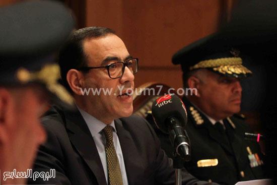 مؤتمر صحفى اكاديميه الشرطه (7)