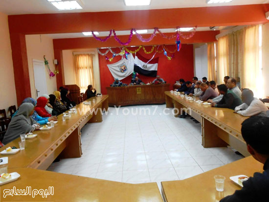 انعقاد المجلس التنفيذى لمدينة دهب (1)