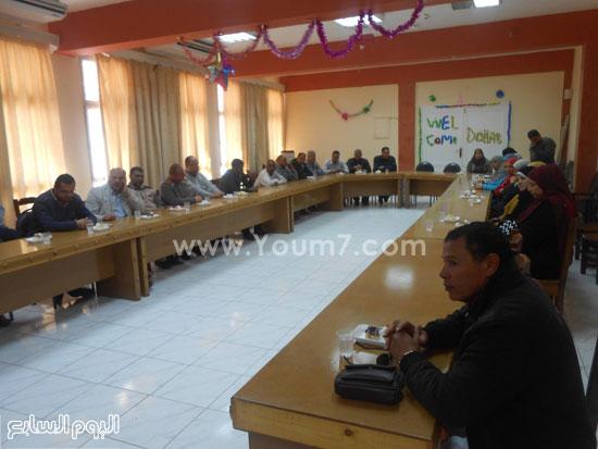 انعقاد المجلس التنفيذى لمدينة دهب (4)