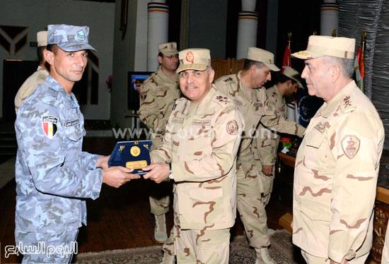 القوات المسلحة الجيش  التنمية  المنطقة الجنوبية  اخبار مصر الفريق اول صدقى صبحى (2)
