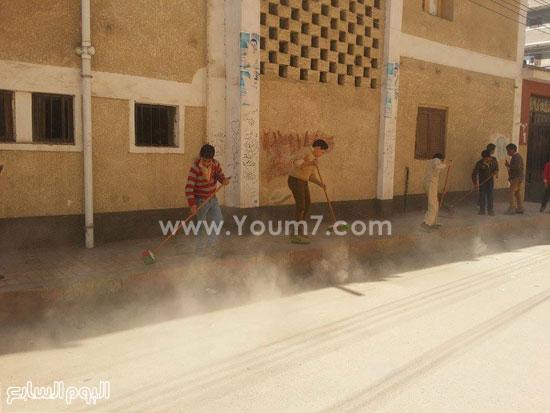 حملة-نظافة-بمدارس-كفر-الشيخ-بعنوان-أنشودة-النظافة-فى-حب-مصر-(2)