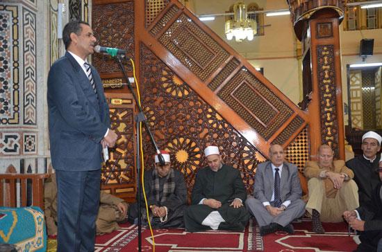اللواء أحمد على السكرتير العام الأمسية الدينية (1)