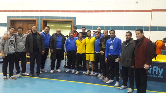 جامعة كفر الشيخ تفوز بذهبية كرة القدم (2)