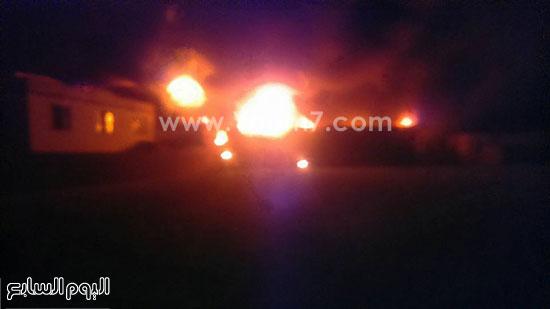 حريق مصنع الغزل بفوه بكفر الشيخ  (4)