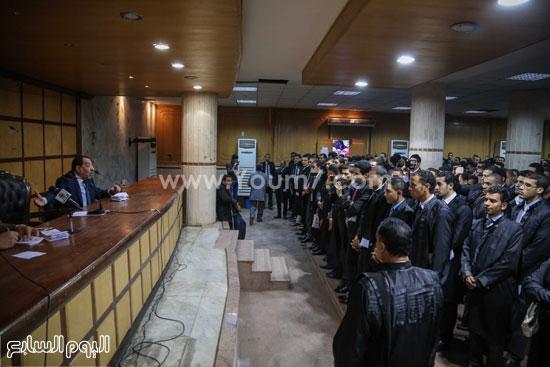 سامح عاشور نقابة المحامين  حلف اليمين   (8)