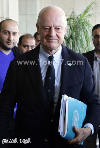 دى ميستورا مبعوث الأمم المتحدة لسوريا (2)