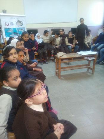 تنظم ندوات لرفع الوعى الأثرى لطلاب المدارس (2)