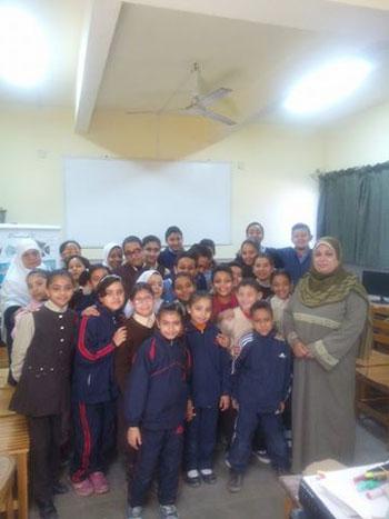 تنظم ندوات لرفع الوعى الأثرى لطلاب المدارس (3)