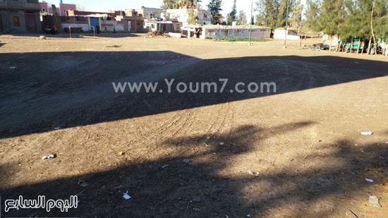 المكان المخصص لبناء المدرسة بدسوق  (2)