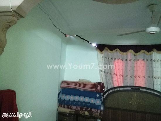 تصدع جدران المنازل (2)