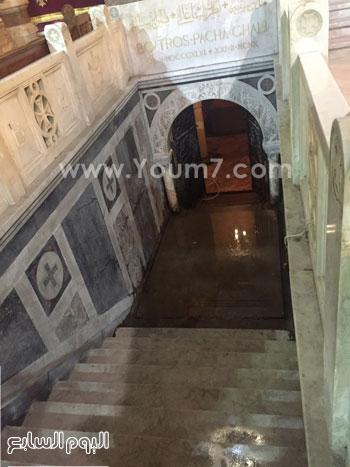 قبر-بطرس-غالى-بالكنيسة-البطرسية-(3)