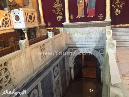 قبر-بطرس-غالى-بالكنيسة-البطرسية-(4)