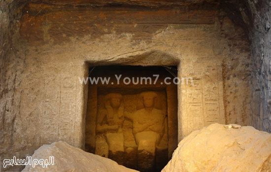 البحث عن الاكتشافات الأثرية بأسوان (7)