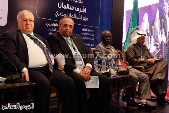 اتحاد المحاسبين العرب (14)هيئة الرقابة المالية شريف سامى