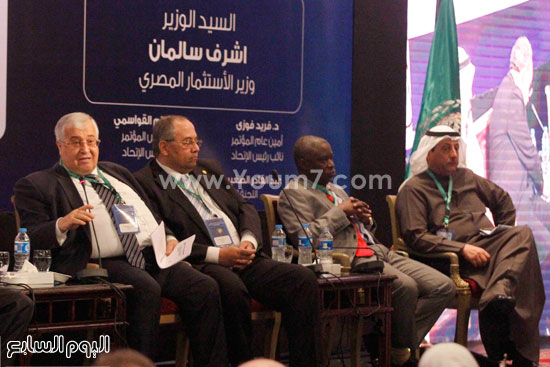 اتحاد المحاسبين العرب (21)هيئة الرقابة المالية شريف سامى