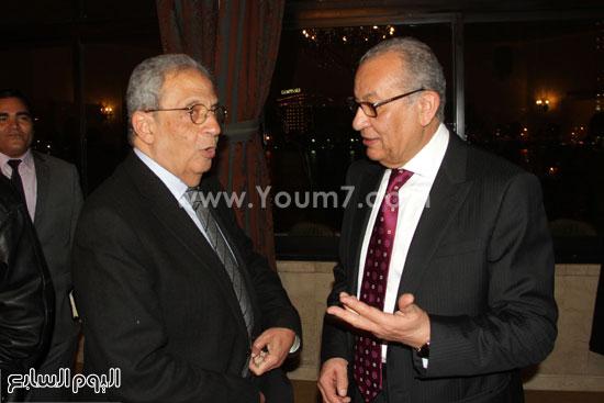 دار الشروق ، عمرو موسى ، معرض الكتاب ، حمدى قنديل (2)