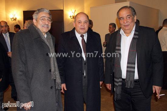 دار الشروق ، عمرو موسى ، معرض الكتاب ، حمدى قنديل (15)