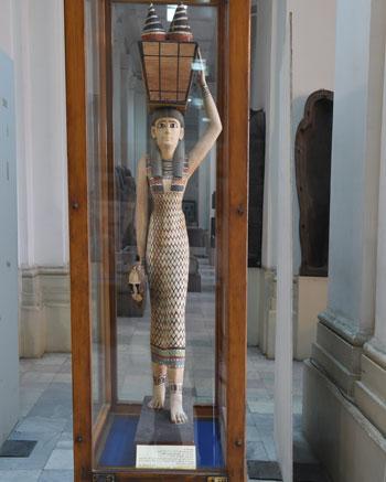 اخبار الثقافة، الاثار، المتحف المصرى، لوحة اوديب (1)
