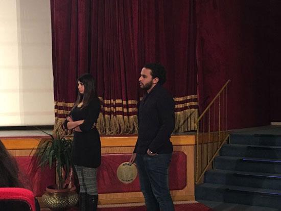 أفلام طلبة كلية اللغة والإعلام بمهرجان الأقصر (1)