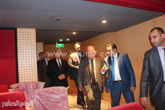 تحويل المركز الثقافي ببور سعيد إلى أوبرا - جولة وزير الثقافة حلمى نمنم (1)