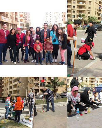 الأكاديمية-العربية-للعلوم-والتكنولوجيا،-مبادرة،-مصر-الجميلة،-تجميل-الأحياء--(1)