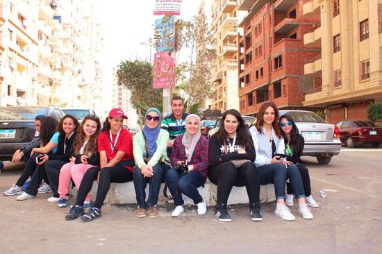 الأكاديمية-العربية-للعلوم-والتكنولوجيا،-مبادرة،-مصر-الجميلة،-تجميل-الأحياء--(3)