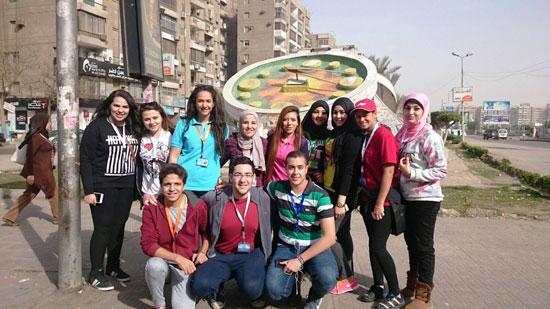 الأكاديمية-العربية-للعلوم-والتكنولوجيا،-مبادرة،-مصر-الجميلة،-تجميل-الأحياء--(4)