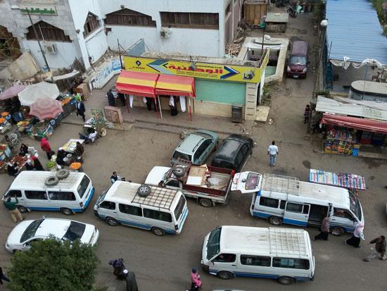 شارع 7 في المعادى، المعادى، حى المعادى، موقف ميكروباص، عشوائيات، الباعة الجائلين (2)