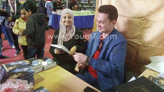 ماجد عبدالله، قمر لينا، معرض القاهرة، دار ليلى، اخبار الثقافة، اخبار الاثار (5)
