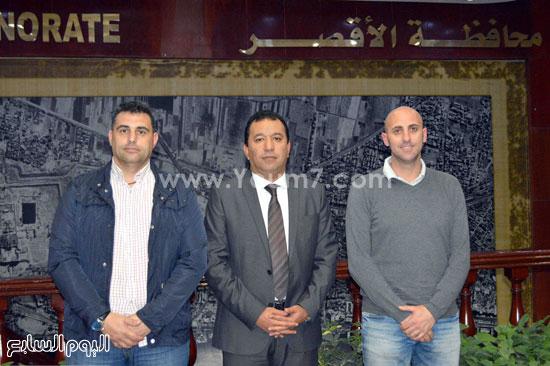 محمد بدر محافظ الأقصر ، فريق برشلونة ، وريال مدريد (3)