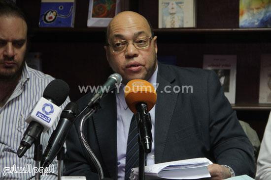 مؤتمر صحفى لتضامن مع أحمد ناجى  (4)