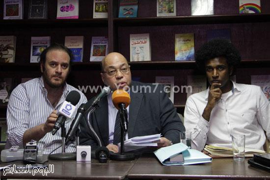 مؤتمر صحفى لتضامن مع أحمد ناجى  (5)