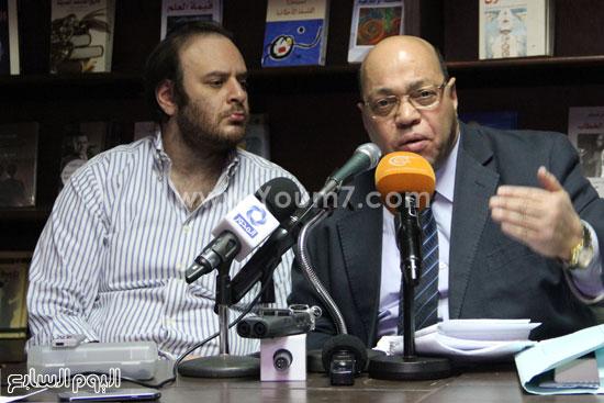 مؤتمر صحفى لتضامن مع أحمد ناجى  (7)