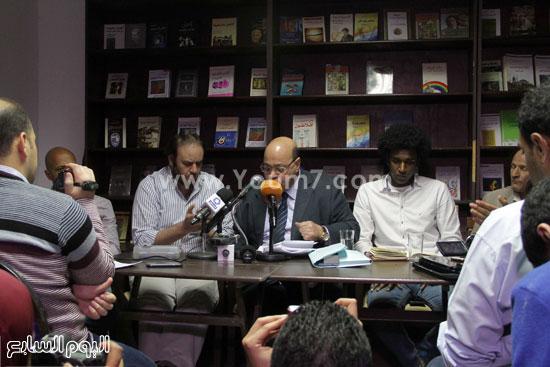 مؤتمر صحفى لتضامن مع أحمد ناجى  (8)