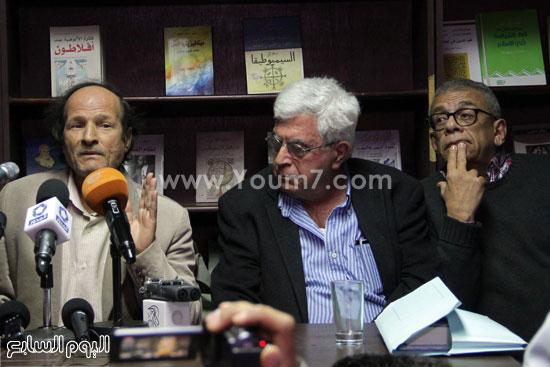 مؤتمر صحفى لتضامن مع أحمد ناجى  (10)