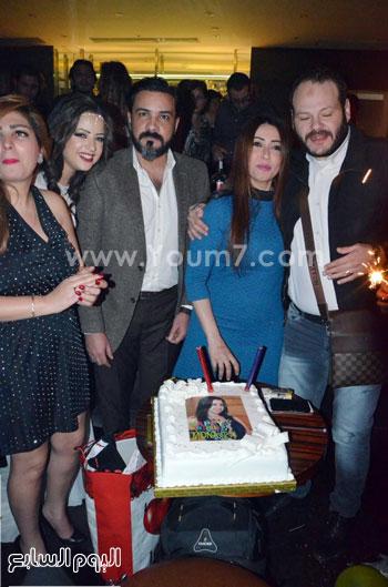 عيد ميلاد منى فاروق، محمد رجب، عصام كاريكا، اخبار الفن، بتشان (2)