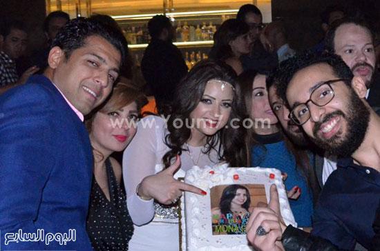 عيد ميلاد منى فاروق، محمد رجب، عصام كاريكا، اخبار الفن، بتشان (7)