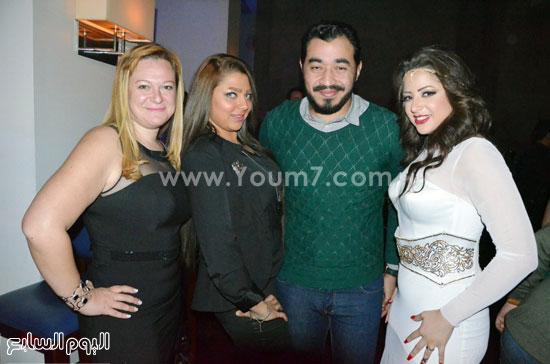 عيد ميلاد منى فاروق، محمد رجب، عصام كاريكا، اخبار الفن، بتشان (12)
