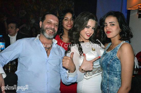 عيد ميلاد منى فاروق، محمد رجب، عصام كاريكا، اخبار الفن، بتشان (14)