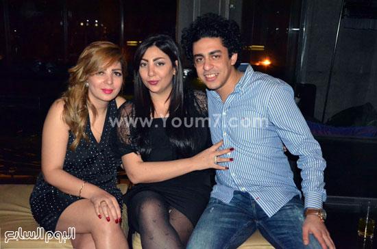 عيد ميلاد منى فاروق، محمد رجب، عصام كاريكا، اخبار الفن، بتشان (17)