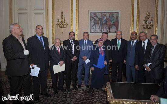 اجتماع رئيس مجلس الوزراء بنواب محافظه اسيط (15)