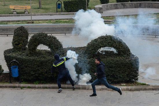 مظاهرات فى تركيا (1)