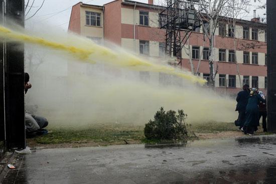 مظاهرات فى تركيا (3)