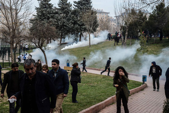 مظاهرات فى تركيا (8)