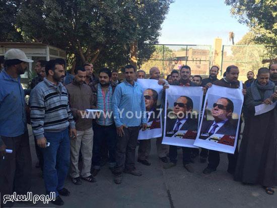 عمال شركة المياه بأسيوط يواصلون إضرابهم عن الطعام لليوم الخامس  (1)