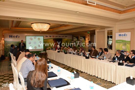 مؤتمر شركة هيرو السويسرية (1)