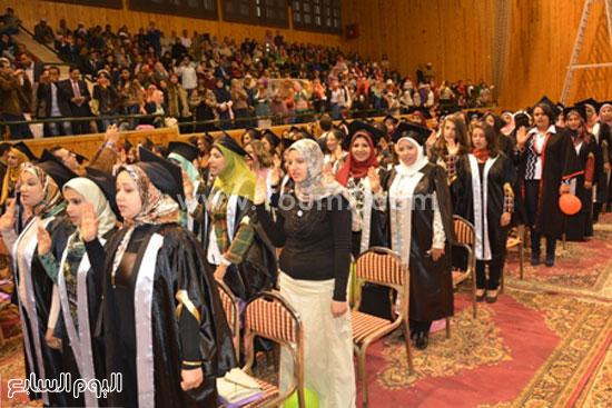 تخرج طلاب -كليه الطب- جامعه اسيوط (11)