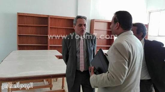 سيد خطاب يتفقد قصور ثقافة المنيا (7)