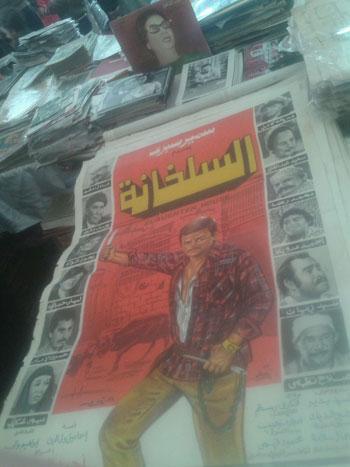 اخبار الثقافة، اخبار الاثار، نشوى مصطفى، سور الأزبكية، جناح ذاكرة السينما (4)