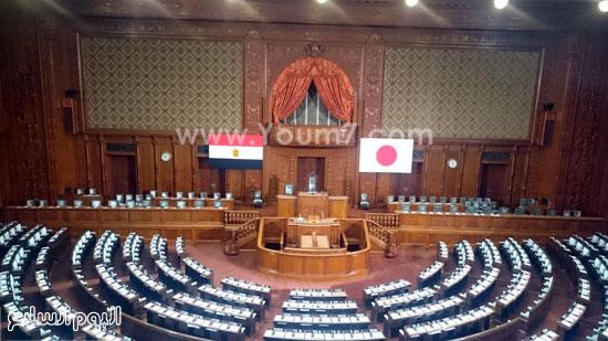 البرلمان اليابانى يستعد لكلمة السيسى (7)